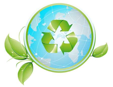 Recykling glob