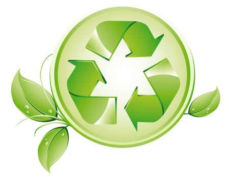 logo reciclaje: Logotipo de reciclaje