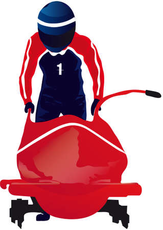winter sports - bobsled