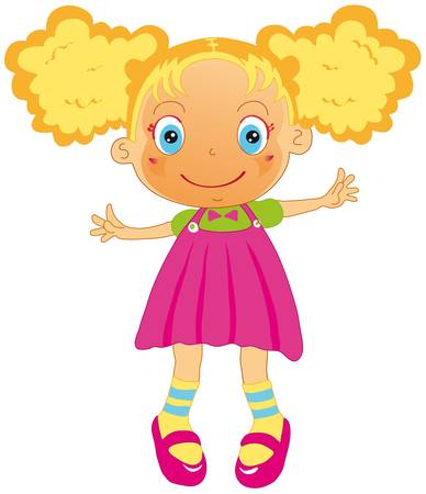 doll Stock Vector - 8314018