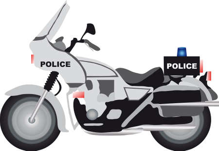 motorcycle officer: police motor