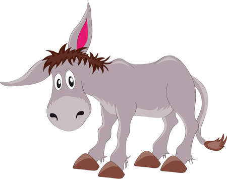 donkey Stock Vector - 8314017