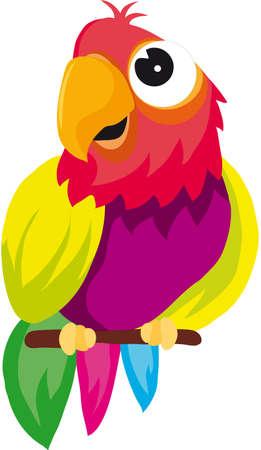 parrot Stock Vector - 8314012