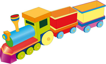wagons: train Illustration
