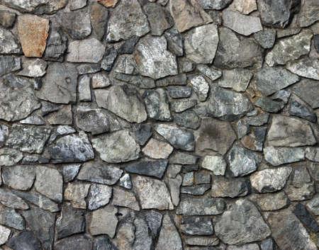 岩の壁のテクスチャの背景。岩は色、形およびサイズの品揃えです。
