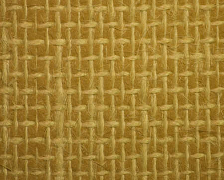 criss: String stitched in a criss cross pattern on lino.