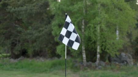 golf drapeau: Drapeau de golf