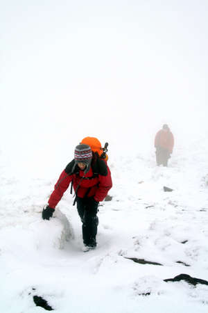 kinder: Kinder Fog. Kinder Scout nella neve. Editoriali