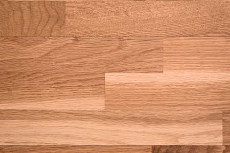 brown parquet as abstract texture background, top view photo