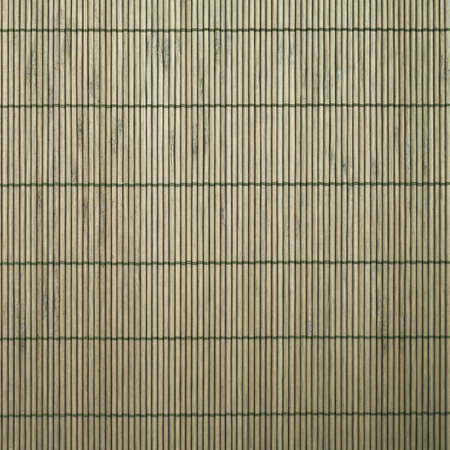 Photo of bamboo mat as abstract texture background top view photo