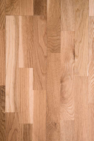 mixflooring: Photo of brown parquet as abstract texture background, top view Stock Photo