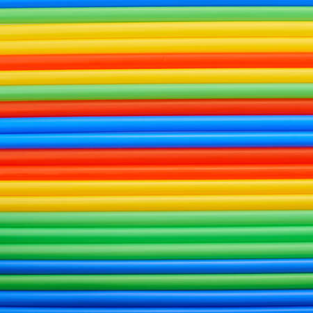 rainbow cocktail: Drinking straw colorful abstract background
