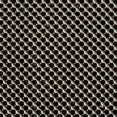 Metal lattice composition as a background texture photo