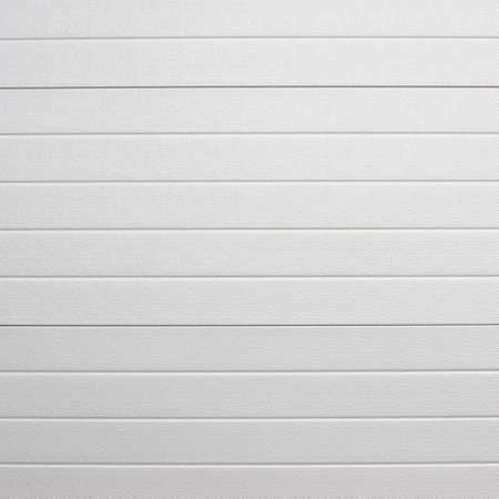 Weiße Kunststoff-Wandverkleidung Abdeckung Fragment als abstrakte Komposition
