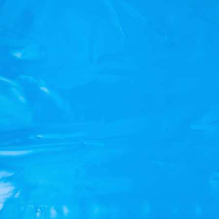 polyethylene film: Creased plastic blue polyethylene film texture