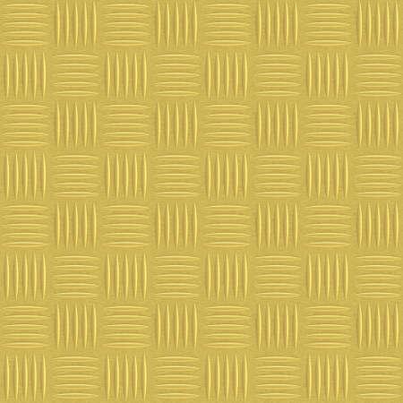 Durbar diamond floor plate fragment made of brushed golden metal Stock Photo - 28556551
