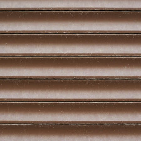 shopwindow: Shopwindow venetian brown plastic blinds composition as a background texture
