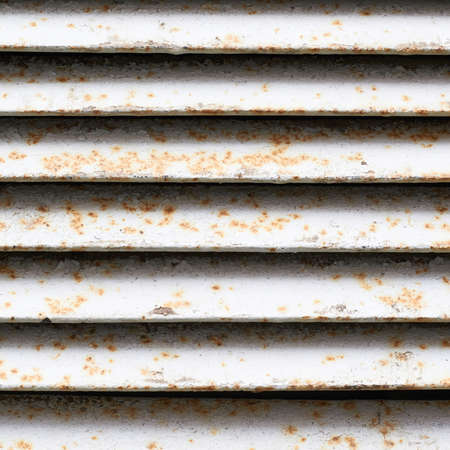 shafts: White rusty ventilation shafts fragment as an abstract background composition