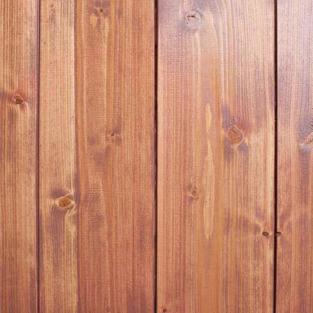 recently: Recently painted in brown wooden pine boards as a background texture composition