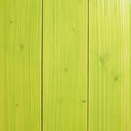 recently: Recently painted in green wooden pine boards as a background texture composition