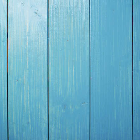 recently: Recently painted in blue wooden pine boards as a background texture composition Stock Photo