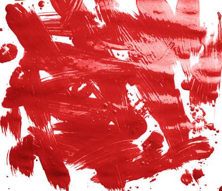 표면: 여러 오일 페인트 브러시로 덮여 표면은 추상적 인 배경 조성물로서 스트로크