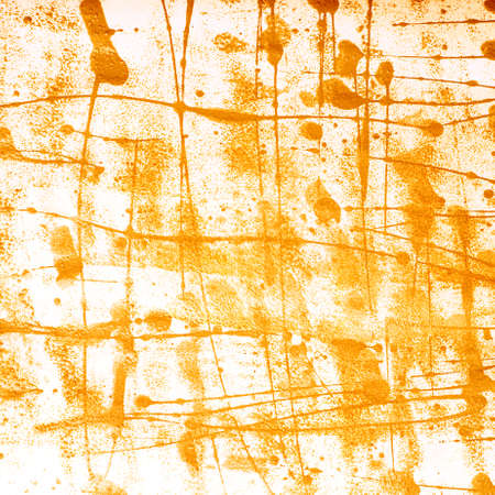 oil spill: Surface covered with a multiple oil paint spills and spots as an abstract background composition