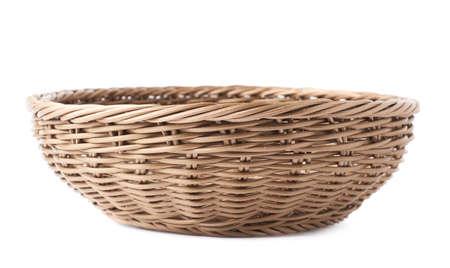 白以上分離空フルーツ茶色の枝編み細工品バスケット ボール