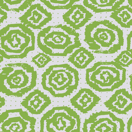 Tie dye pettern. Japanese print. Batik texture vector seamless motif. Indonesian design. Organic clothing. Shibori swimwear background. Old bed linen. China cotton rapport. Silk geometric painting. Çizim