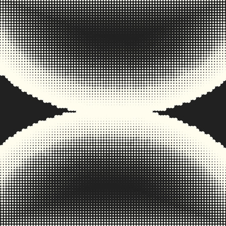 Halftone dots pattern Illustration