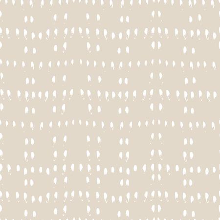 Vector stropdas kleurstof naadloze patroon. Hand getrokken shibori print. Inkt gestructureerde Japanse achtergrond. Moderne batic behangtegel. Aquarel ivoor eindeloze achtergrond. Stock Illustratie