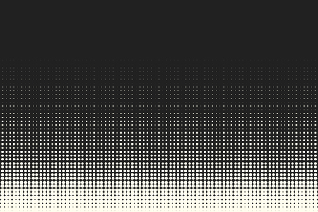 Halftone Dots Vector Black And White Circles Halftone Background