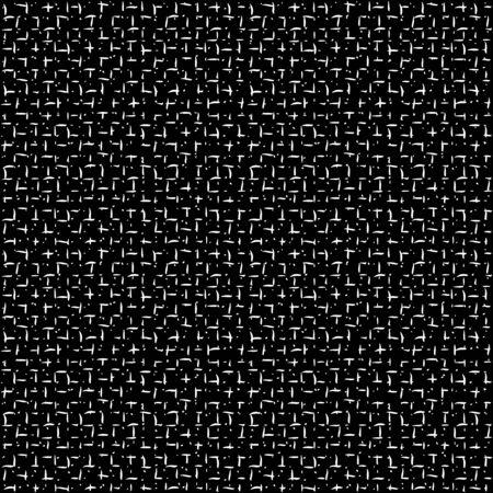 Tie dye pettern. Japanese print. Batik texture vector seamless motif. Indonesian design. Organic clothing. Shibori swimwear background. Old bed linen. China cotton rapport. Silk geometric painting. Illusztráció