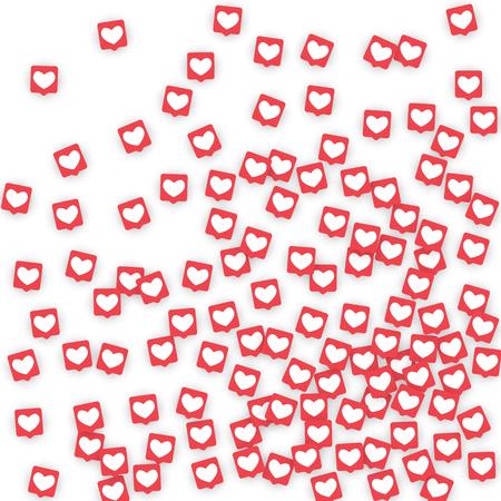 Social Media Icons Иллюстрация