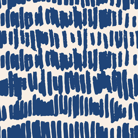 Indigo vector tie dye seamless pattern. Abstract watercolor. Natural tiles. Organic texture.Watercolour print. Japan folk pattern. Organic textile. Japanese seamless natural texture. Indigo batik. 矢量图像
