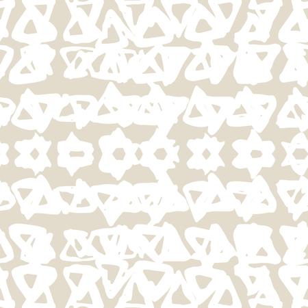 A Triangle tie dye pattern on Shibori seamless background. Illustration