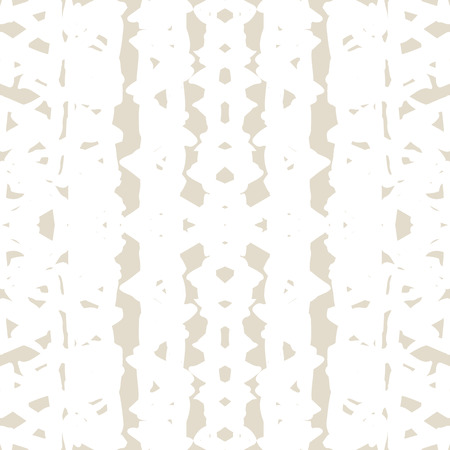 Triangle tie dye pattern. Shibori ivory background. Geometric china ink natural print.  イラスト・ベクター素材