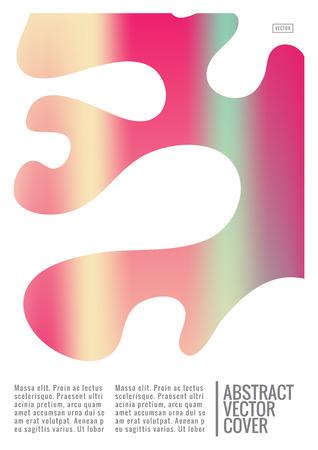 표지 디자인 템플릿. 노트북 창의적인 레이아웃. 기업 연례 보고서, 포스터, 잡지 첫 페이지의 배경. 최소한의 전단지, 비즈니스 전단지. 승진 개념 카드. A4 평면 추상 미술