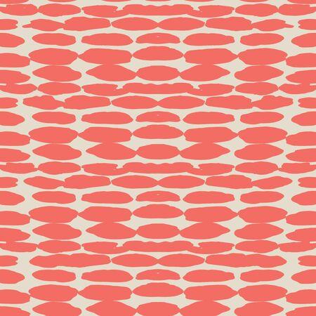 Crimson and White tie dye seamless pattern.  Shibori seamless print. Watercolor hand drawn batik.  Handmade watercolour shirt tie dye pattern. Japan traditional tile. Rose and Beige shibori. Ilustração