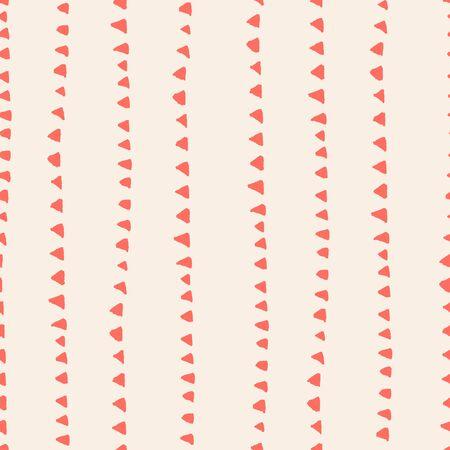 Salmon and Beige tie dye seamless pattern.  Shibori seamless print. Watercolor hand drawn batik.  Handmade watercolour shirt tie dye pattern. Japan traditional tile. Terracotta and White shibori.