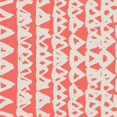 Burgundy and Beige tie dye seamless pattern.  Shibori seamless print. Watercolor hand drawn batik.  Handmade watercolour shirt tie dye pattern. Japan traditional tile. Maroon and Beige shibori.