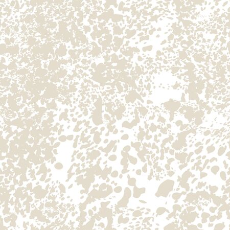 African Rapport Pattern. Watercolor Camouflage Design. Spot Tile.  Leopard Skin Print. Animal Camouflage Background. Leopard Vector Seamless Pattern. Animal Abstract Texture. White and Beige