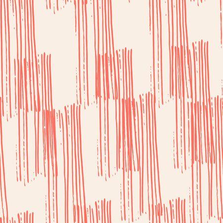 Pink and White tie dye seamless pattern.  Shibori seamless print. Watercolor hand drawn batik.  Handmade watercolour shirt tie dye pattern. Japan traditional tile. Rose and Beige shibori.
