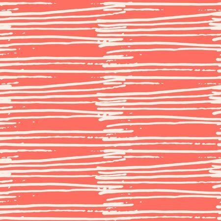 Terracotta and White tie dye seamless pattern.  Shibori seamless print. Watercolor hand drawn batik.  Handmade watercolour shirt tie dye pattern. Japan traditional tile. Terracotta and Beige shibori. Ilustração