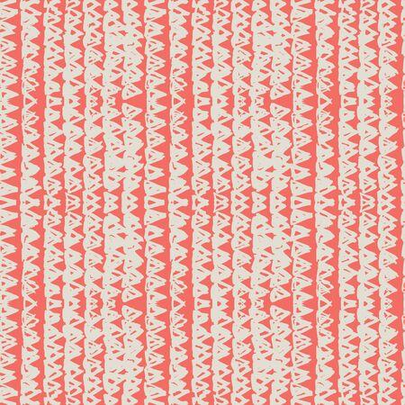 Pink and White tie dye seamless pattern.  Shibori seamless print. Watercolor hand drawn batik.  Handmade watercolour shirt tie dye pattern. Japan traditional tile. Terracotta and White shibori.