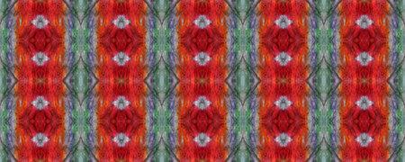 Watercolor Ethnic Design. Ethnic Seamless Pattern. Fun Rectangle Ikat Rapport. Red, Blue and Yellow Paintbrush Python Background. Geometric Swimwear Pattern. Snake Skin Random Texture. Reklamní fotografie