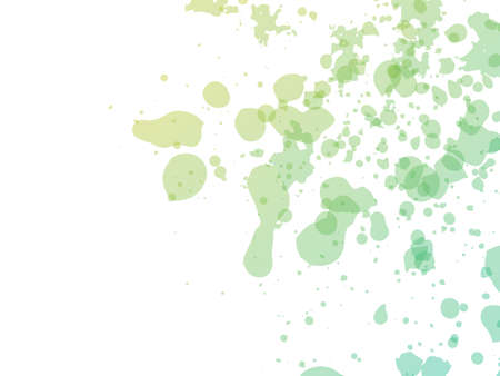 Vector Brush Stroke. Abstract Fluid Splash. Watercolor Textured Background. Green and Teal Isolated Splash on White Backdrop. Sale Banner Brushstroke. Gradient Paintbrush.
