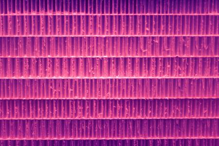 Vivid pink purple violet lined background pattern with darkened edges