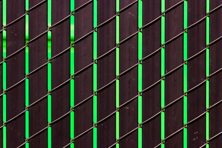 Steel metal repeating pattern texture of iron aluminum like materials Stock Photo