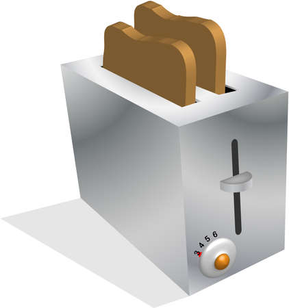 toasting: device for toasting bread, English muffins, crumpets